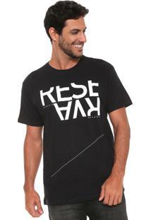 Camiseta Reserva Que Seja Preta