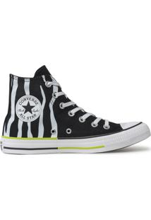Tãªnis Converse All Star Chuck Taylor Hi Preto Ct13820001 - Preto - Feminino - Dafiti