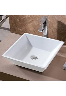 Cuba De Apoio Banheiro Lavabo Sobrepor De Porcelana Cerâmica Louça C267 - Premierdecor