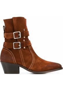 Allsaints Ankle Boot Harriet - Marrom