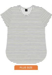 Blusa Básica Feminina Rovitex Branco