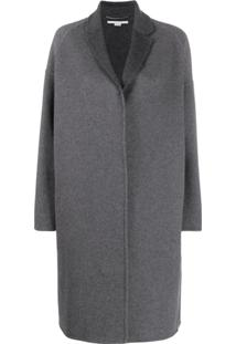 Stella Mccartney Single-Breasted Coat - Cinza