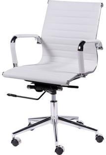 Cadeira Office Eames Esteirinha- Branca- 105X46,5X61Or Design