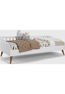 Cama Babã¡ Retrã´ Branco Soft / Eco Wood - Branco - Dafiti