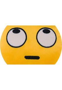 Almofada Capital Do Enxoval Emoji Desviando Olhar Estampado