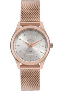 Relógio Technos Feminino Boutique - Feminino-Rosa