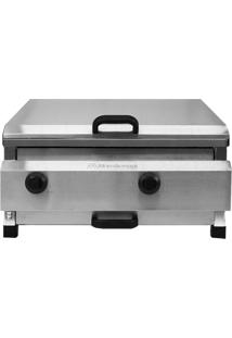 Churrasqueira Profissional Marchesoni Charbroiller Ch.4.052 2 Queimadores Inox