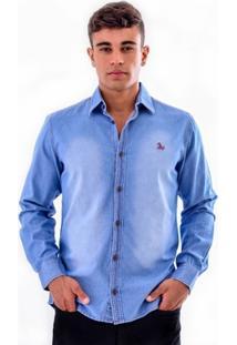 Camisa Amil Spring Jeans Slim - Masculino