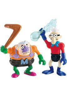 Imaginext Mattel Figuras Básicas Mermaidman E Barnacledy