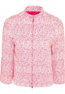 Blazer Feminino Tweed - Vermelho