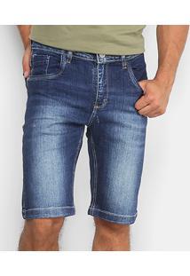 Bermuda Jeans Reta Rockblue Masculina - Masculino