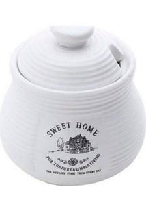 Açucareiro Sweet Home Branco