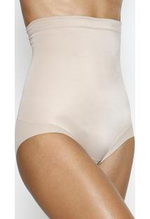Calcinha Hot Pant Modeladora- Bege Escuro- Liebeliebe