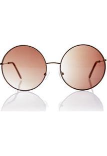 e434892f1 Morena Rosa; Haste. Oculos Rounded Color Marrom - Tu