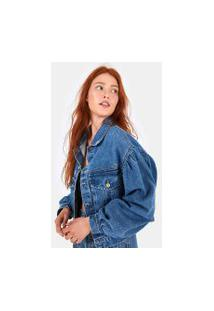 Jaqueta Manga Maxi Refarm Jeans