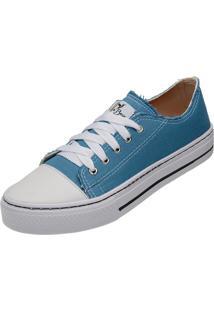 Tênis All Star Feminino Confortável Azul