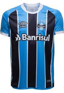Camisa Masculina Umbro Grêmio Oficial 1 2017 (Fan)