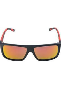 Óculos De Sol Khatto Mar Masculino - Masculino-Preto