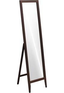 Espelho De Piso Klemm 35X44,5X134Cm Castanho