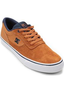 Tênis Dc Shoes Switch Masculino - Masculino-Caramelo