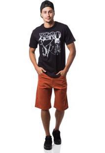 Camiseta Zero Street Artist Masculina - Masculino-Preto