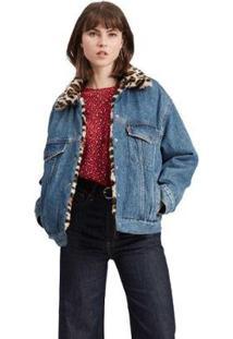 Jaqueta Levis Oversized - 00000 - Feminino-Jeans