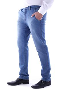 Calça 2179 Jeans Azul Indigo Traymon Modelagem Slim