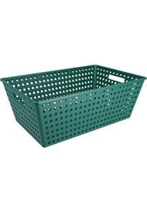 Cesta One- Verde Escuro- 22,3X59,5X38,8Cm- Cozacoza