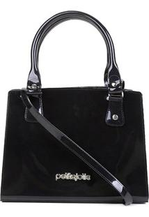 Bolsa Petite Jolie Handbag Feminina - Feminino-Preto