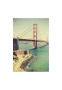 Painel Adesivo De Parede - Ponte Golden Gate - 1450Png