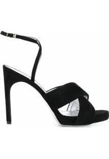 Givenchy Sandália Com Fechamento No Tornozelo - Preto