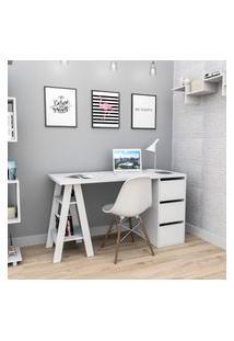 Mesa Escrivaninha Para Notebook Appunto Esc3005 Self 3 Gavetas