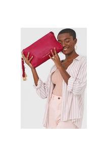 Clutch Jorge Bischoff Tassel Pink
