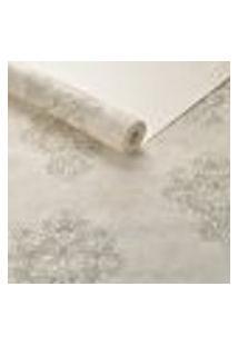 Papel De Parede Lavavel Textura Arabescos Bege Alto Padrao