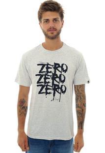 Camiseta Zero Triple Z Masculina - Masculino