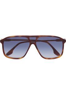 Victoria Beckham Óculos De Sol Vb156S - Marrom