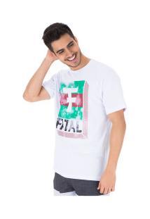 Camiseta Fatal Estampada 22100 - Masculina - Branco