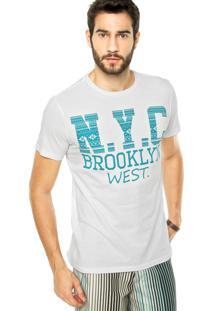 Camiseta Fiveblu Brooklyn Branca