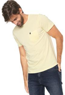 Camiseta Sergio K Com Bolso Amarela