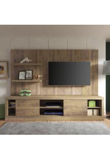 Estante Home Boss Para Tv Até 50 Polegadas 2 Portas Artely Pinho