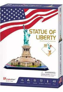 Quebra Cabeça Estatua Da Liberdade - Brinquedos Chocolate