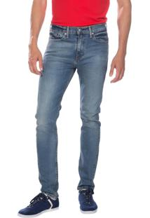 Calça Jeans Levis 510 Skinny Média Azul