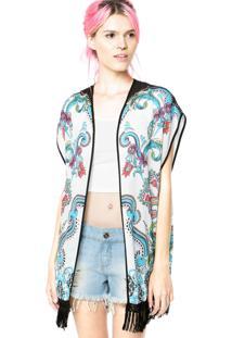 Kimono Colcci Loose Branco