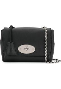 Mulberry Chain Strap Shoulder Bag - Preto