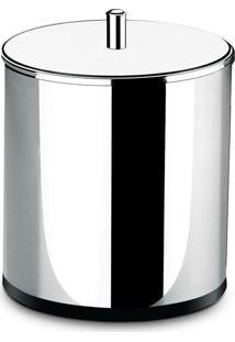 Lixeira Brinox Inox Com Tampa, 5,4 Litros (3030/202)