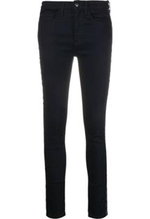 Veronica Beard Slim Fit Jeans - Azul