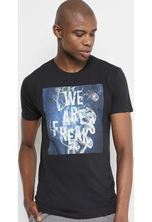 Camiseta Hd Slim We Are Freaks Masculina - Masculino