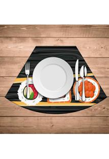 Jogo Americano Para Mesa Redonda Wevans Sushi
