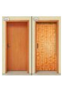 Adesivo Decorativo De Porta - Hieróglifo - 1390Cnpt