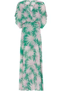 Vestido Longo Nara - Verde